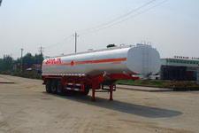楚飛10.5米33.5噸3軸化工液體運輸半掛車(CLQ9404GHY)