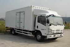 庆铃牌QL5090XXY9MARJ型厢式运输车图片