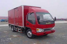 江淮骏铃国四单桥厢式运输车87-112马力5吨以下(HFC5041XXYP93K4C2)