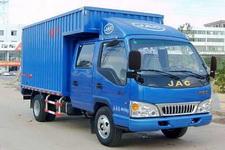 江淮骏铃国四单桥厢式运输车82-95马力5吨以下(HFC5041XXYR93K4C2)