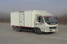 福田奧鈴國四單橋廂式運輸車95-118馬力5噸以下(BJ5049XXY-AA)