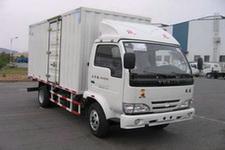 上汽跃进国四单桥厢式运输车68-88马力5吨以下(NJ5041XXYDBDT5)