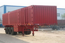 远东汽车10.5米32吨3轴厢式运输半挂车(YDA9401XXY)