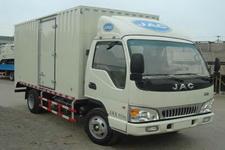 江淮骏铃国四单桥厢式运输车95-124马力5吨以下(HFC5045XXYP92K3C2)