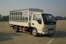 江淮帅铃国四单桥仓栅式运输车76-88马力5吨以下(HFC5040CCYP93K7B4)
