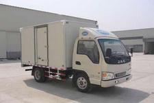 江淮康铃国四单桥厢式运输车76-88马力5吨以下(HFC5040XXYP93K7B4)