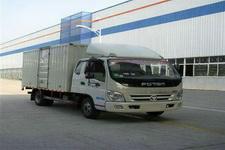 福田奥铃国四单桥厢式运输车118-131马力5吨以下(BJ5049XXY-CF)