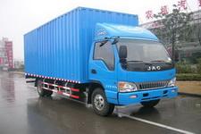 江淮骏铃国四单桥厢式运输车124-156马力5吨以下(HFC5092XXYP91K1D3)