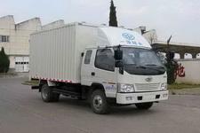一汽红塔国四单桥厢式运输车116-122马力5吨以下(CA5040XXYK35L3R5E4)