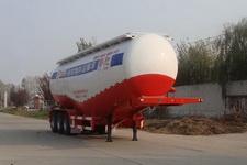 鲁驰牌LC9403GFL型低密度粉粒物料运输半挂车图片