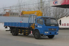 CLW5090JSQ4型程力威牌随车起重运输车图片