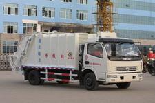程力威牌CLW5080ZYS4型压缩式垃圾车