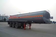 楚飞10米31.5吨3轴易燃液体罐式运输半挂车(CLQ9404GRY)