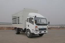 豪沃牌ZZ5107CCYG3615D1型仓栅式运输车