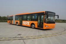 海格牌KLQ6181GQL5型铰接城市客车图片