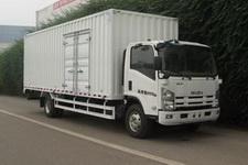 庆铃国四单桥厢式运输车189马力5吨以下(QL5101XXY9PARJ)