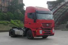 红岩单桥集装箱半挂牵引车430马力(CQ4185HVG361C)
