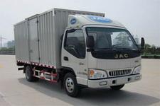 江淮康铃国四单桥厢式运输车95-102马力5吨以下(HFC5045XXYP82K1C2)