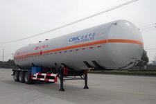 中集13米25.1吨3轴液化气体运输半挂车(NTV9402GYQ)