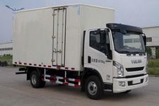 上汽跃进国四单桥厢式运输车140-163马力5吨以下(NJ5041XXYZFDCWZ)