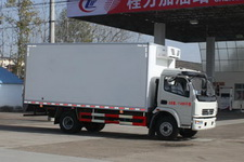 程力威牌CLW5110XLC4型冷藏车