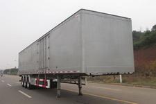 晟通牌CSH9400XXY型铝合金厢式运输半挂车图片