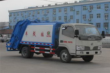 程力威牌CLW5070ZYS4型压缩式垃圾车