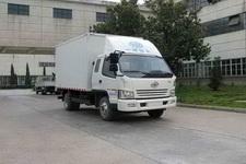 一汽红塔国四单桥厢式运输车102-124马力5吨以下(CA5040XXYK6L3R5E4-2)
