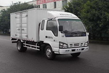 庆铃国四单桥厢式运输车120马力5吨以下(QL5040XXYA1HHJ)
