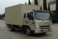 一汽红塔国四单桥厢式运输车122-129马力5吨以下(CA5094XXYPK26L3R5E4)