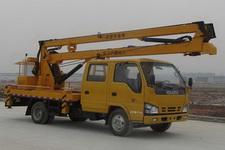 国4五十铃600p双排高空作业车(16米)