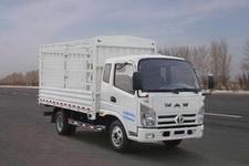 飞碟奥驰国四单桥仓栅式运输车109-129马力5吨以下(FD5046CCYW63K)