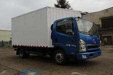 一汽红塔国四单桥厢式运输车116-129马力5吨以下(CA5044XXYPK26L2E4)