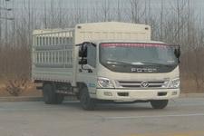 福田奥铃国四单桥仓栅式运输车143马力5吨以下(BJ5049CCY-FE)