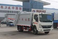 程力威牌CLW5071ZYS4型压缩式垃圾车