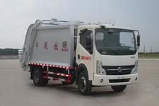 程力威牌CLW5080ZYSD4型压缩式垃圾车