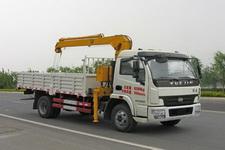 CLW5080JSQN4型程力威牌随车起重运输车图片