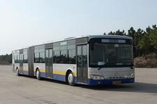 安凯牌HFF6180G02CE5型铰接城市客车图片