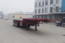 远东汽车12米33.5吨3轴平板运输半挂车(YDA9401TPB)