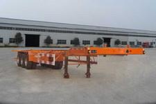 三威12.5米35吨3轴集装箱运输半挂车(WQY9400TJZ)