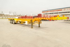东润15米33吨3轴集装箱运输半挂车(WSH9403TJZ)