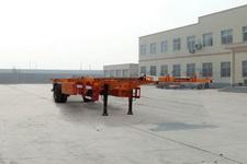 麟州牌YDZ9150TJZ型空载集装箱运输半挂车图片