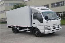 庆铃国四单桥厢式运输车98马力5吨以下(QL5043XXY3HARJ)