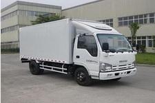 庆铃国四单桥厢式运输车98马力5吨以下(QL5041XXY3HARJ)