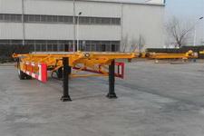 中集牌ZJV9150TJZQD型空载集装箱运输半挂车图片