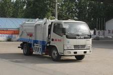 程力威牌CLW5070ZDJ4型压缩式对接垃圾车