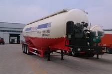 麟州牌YDZ9404GFL型低密度粉粒物料运输半挂车图片