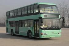 海格牌KLQ6119GSC5型双层城市客车图片