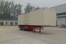 华鲁业兴12米31.8吨3轴厢式运输半挂车(HYX9403XXY)