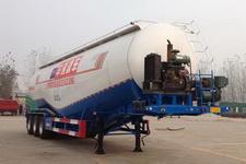 瑞傲牌LHR9402GFL型低密度粉粒物料运输半挂车图片